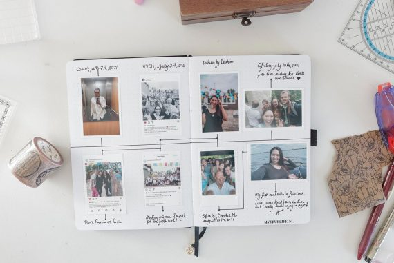 How to create a timeline journal